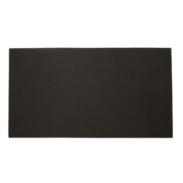 gaming playmat - solid black