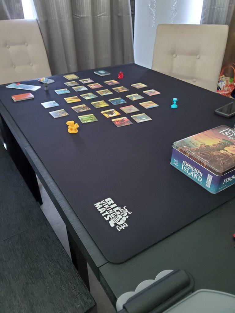 viking mat custom cut neoprene gaming mat