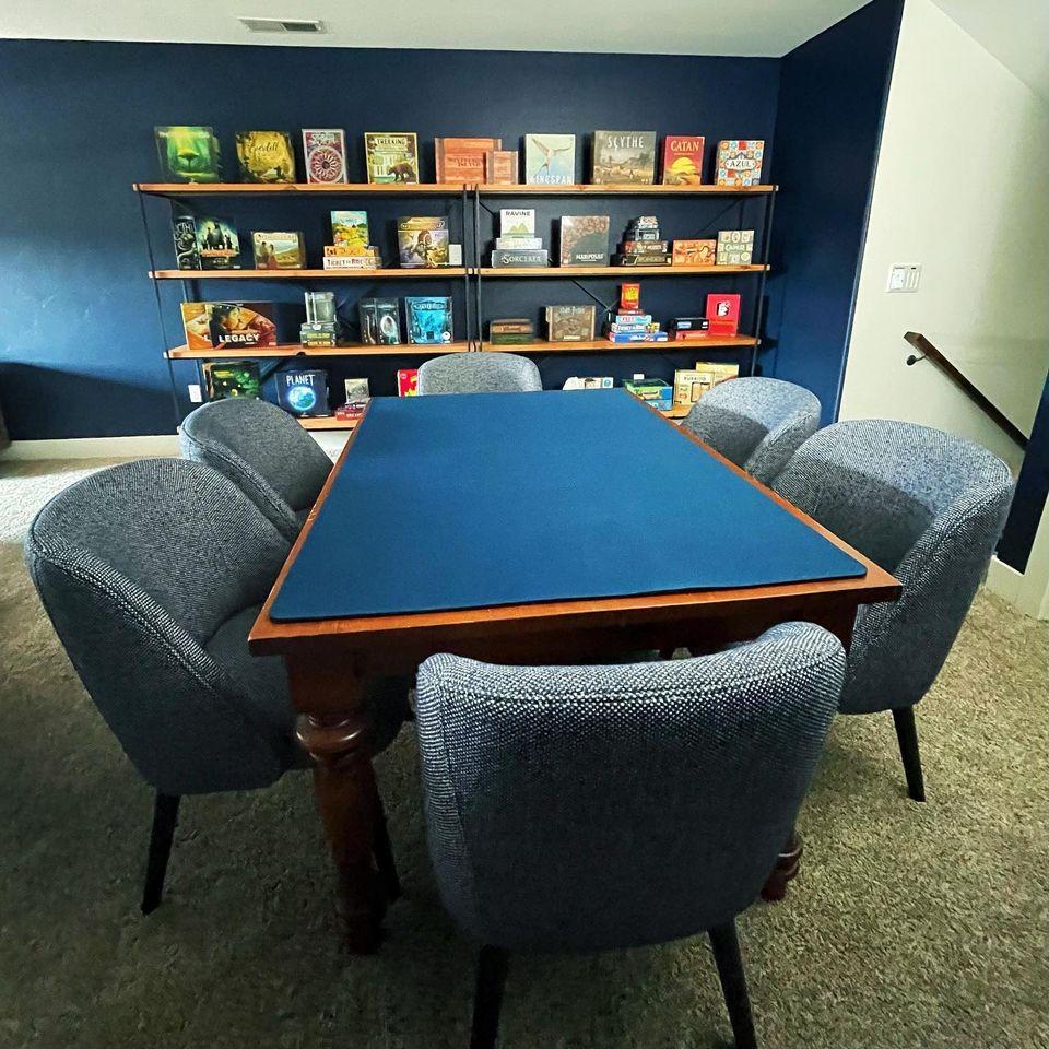 custom gaming table setup