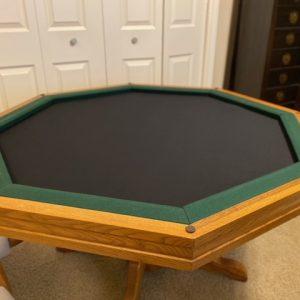 octagonal gaming mat